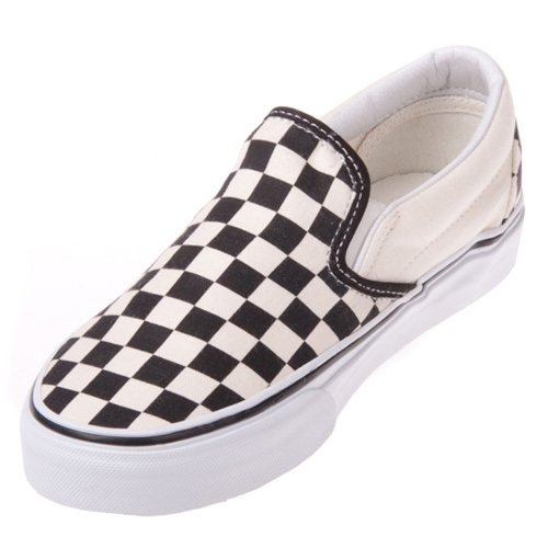 Vans Unisex VN-0EYEBWW Classic Slip On Black/White Checker  available at amazon for Rs.1609