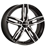 CARMANI 14 Paul black polish 6,5x16 ET41 5.00x115 Hub Bore 70.30 mm - Alu felgen