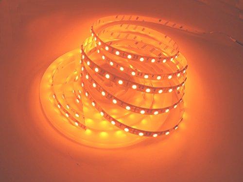 LED-Streifen-Licht, Dreamcolor 16.4ft / 5M 5050 DC 12V 300Leds hohe Helligkeits-Chip SMD orange LED-flexible Streifen-Lichtlampe Weiß PWB (Kommerzielle Led-weihnachtsbeleuchtung)