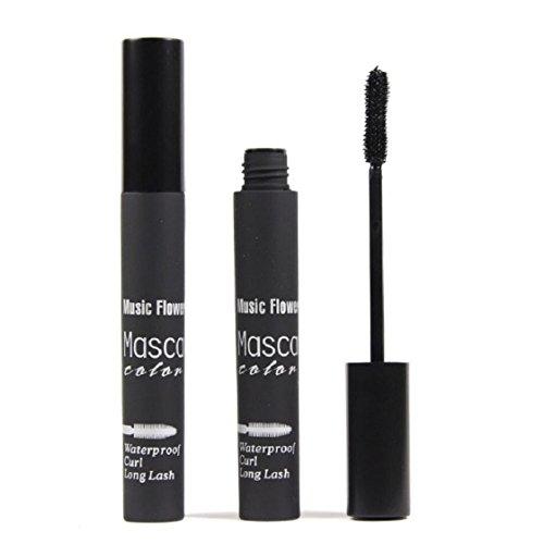 Culater® Imperméable à l'eau de Maquillage des Cils à Long Curling Cils de Mascara Prolongation noir