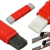 Strumento 2in1 pulizia corde chitarra basso ukulele zither anti ruggine e spalma olio