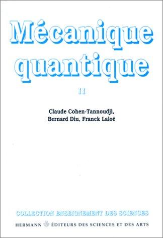Mécanique quantique II