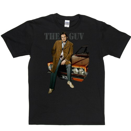 The Guv TV Movies Comedy Tee's T-shirt Schwarz