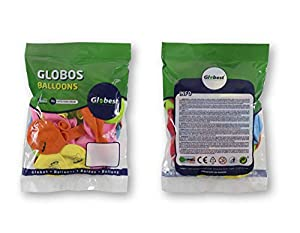 Globest- Globos de fiesta, Multicolor Festival 50733)