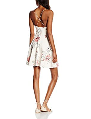 New Look Women's Mary Botanical Bonded Dress