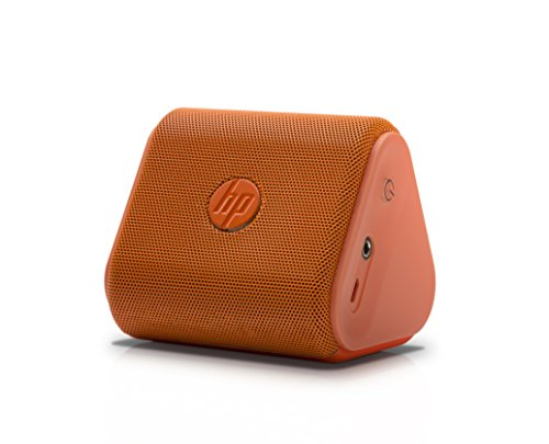 HP Roar G1K48AA Mini Bluetooth Speakers (Orange)