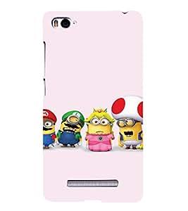 Ebby Premium 3d Desinger Printed Back Case Cover For Xiaomi Mi4i (Premium Desinger Case)