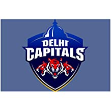 IPL Delhi Capitals Paper FineArt Wall Poster Without Frame (12x18 Inch)