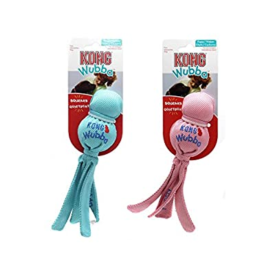 Kong Wubba Puppy Toy (Assorted Colours) from Kong