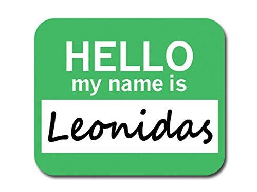 leonidas-bonjour-mon-nom-est-tapis-de-souris-tapis-de-souris