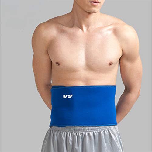 LYLTJ68 Sport Rückenstütze, Rückenstütze Bauchschutz Für Basketball Fitness Badminton Laufen Gewichtheben Squat Training,breathableone,XL