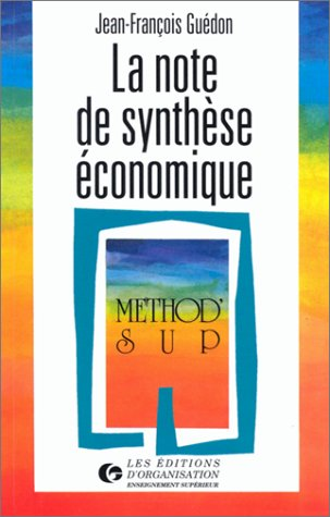 La note de synthèse économique