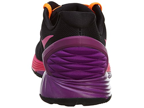 Lunarglide 6 style Big Kids: 654156-003 Taille: 1: 14.5 Black/Pink Pow-Bold Berry-Total Orange