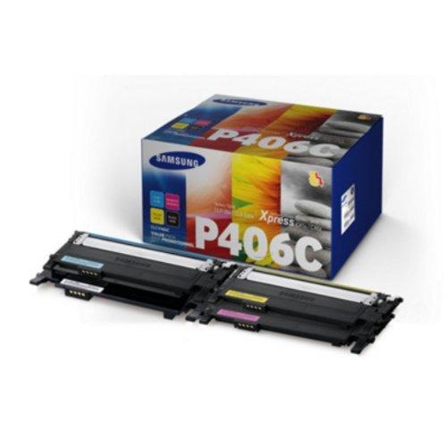Preisvergleich Produktbild Original Samsung CLTP406CELS Toner MultiPack Samsung CLP-360