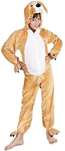 (B88050-140 Hunde Kostüm Overall Kinder Mädchen Gr.140)