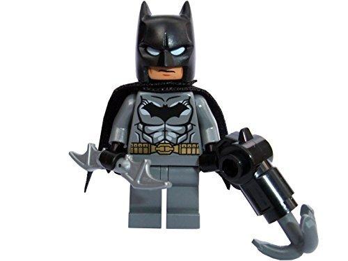 Lego DC superhéroes Superhéroe Batman Minifigura con Murciélago a sonó y De agarre pistola