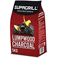 Supagrill 5KG Bag of Lumpwood Charcoal For BBQs