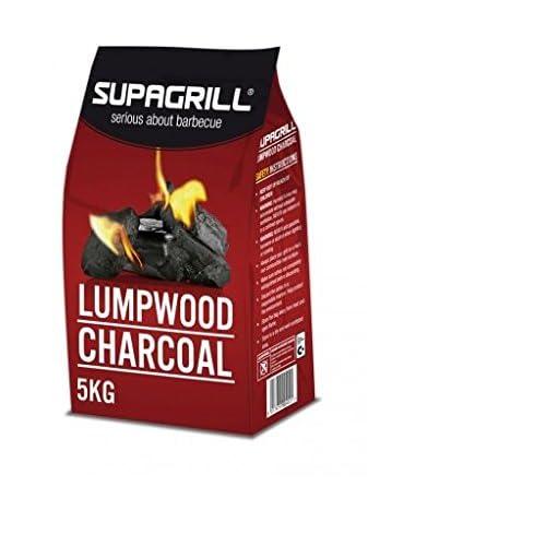 41F3E1HpHNL. SS500  - Supagrill 3KG Bag Lumpwood Charcoal For BBQs