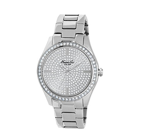 kenneth-cole-watch-elegance-lady-s-s-with-stones-silver-tone-bracelet