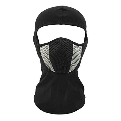 Ecyc passamontagna invernale maschera per il viso, passamontagna antipolvere antivento per scialle da snowboard per bici da sci, grigio