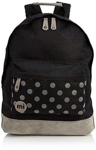 Mi-Pac Polka, Mochila Tipo Casual, 41 cm, 17 Litros, Black / Grey