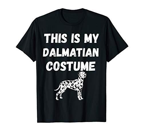 Dalmatiner Kostüm Hunde Verkleidung Hundebesitzer T-Shirt