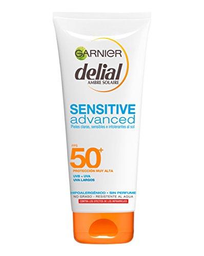 Garnier Delial Sensitive Advanced - Leche Solar Pieles