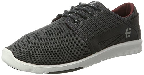 Etnies Herren Scout Sneaker Grau (Dark Grey/White/Red)