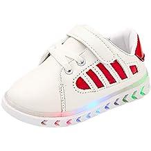 Amlaiworld Zapatillas de Deporte Luminosas con luz LED para niños niñas bebé Zapatos Unisex
