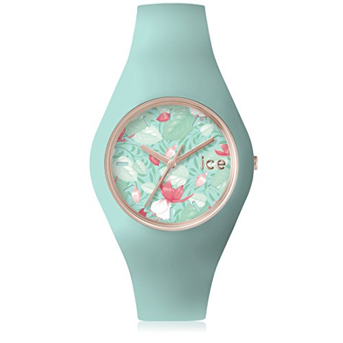 Ice-Watch - ICE flower Eden - Women's wristwatch with silicon strap - 001304 (Medium)