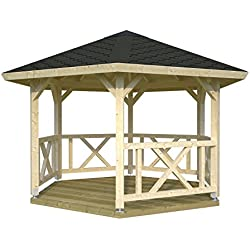 Palmako Pavillon Betty 9,9 natur
