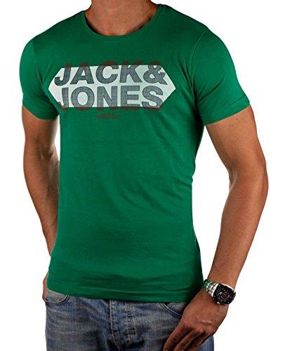 JACK & JONES Herren T-Shirt SUMMER-SALE verschiedene Modelle Grün FONT
