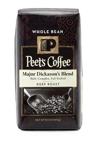 Peet's Whole Bean Coffee, Major Dickason's Blend, 12-Ounce by Peet's Coffee