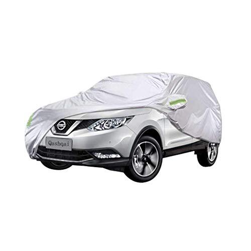 CYJCY Auto Abdeckung SUV Spezielle Auto Abdeckung Dickes Oxford Tuch Sonnenschutz Regen Und Staubschutz Auto Abdeckung Kleidung for Nissan Qashqai CYJCY