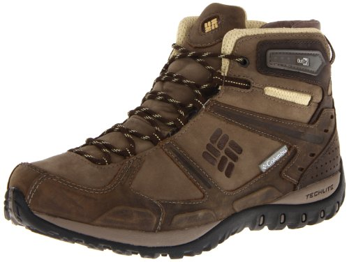 Columbia Yama Mid Leath, Chaussures montantes femme - Marron (Truffle, Cane/211), 41 EU (10 US)