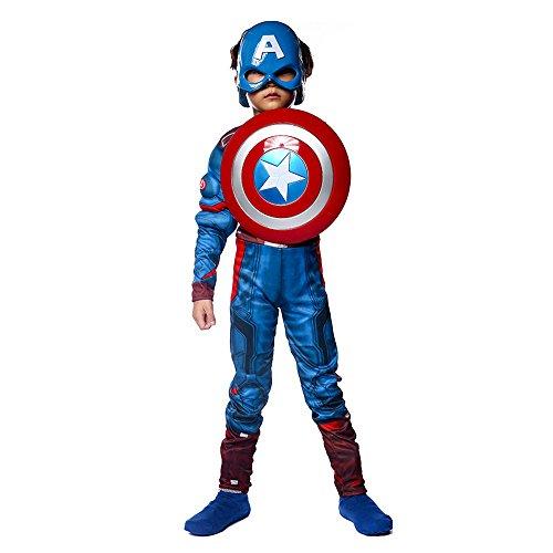 Halloween Avenger Kostüme (Halloween Kleider Kinder Strumpfhose Avenger Superman Performance Kostüm)
