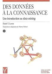 Des données à la connaissance : Une introduction au data-mining (1Cédérom)
