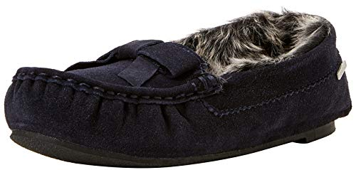 Isotoner Real Suede Moccasin Slippers