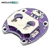 2PCS für Arduino LilyPad MünzZellen BatterieHalter CR2032 Akku-Montage Modul kleine Dia-SchaltTafel
