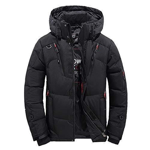 expeditions daunenjacke Kapuzenjacke Wintermantel Herren Männer Junge Daunenjacke FRAUIT mit Kapuze Reißverschluss-Mantel Outwear-Jacken-Spitzen-Bluse Arktis-Expedition warme Outwear Top
