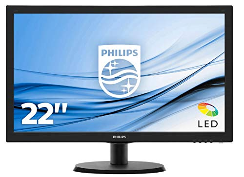 Philips 223V5LHSB2/00 - Monitor para PC 21.5