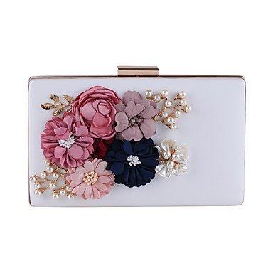pwne L.West Women&#039;S Fashion À Fleur Blanc Sac À Main