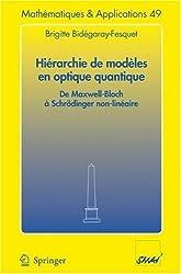 Hiérarchie de modèles en optique quantique: De Maxwell-Bloch a Schrodinger Non-Lineaire (Mathématiques et Applications)