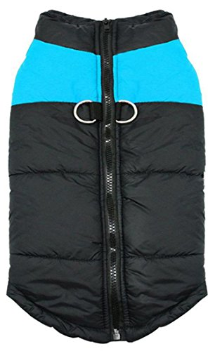Idepet(TM) Pet Dog Winter Coat Waterproof Clothes for Small Medium large Pet Dog Cat Size S M L XL XXL 3XL 4XL 5XL