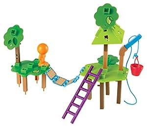 Learning Resources Casita en el árbol Set de Actividades de ingeniería, diseño y construcción, Color (LER2844)