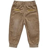 Hongyuangl Niños Niñas Pana Pantalones Primavera Otoño Pantalones Casuales Deporte Pantalones de Jogging