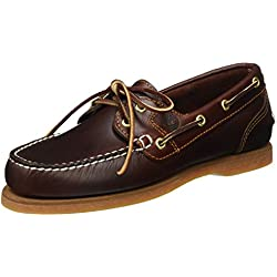 Timberland Classic Boat FTW Amherst 2 Eye Boat - Náuticos Mujer, Marrón (Braun (Rootbeer Smooth)), 35,5