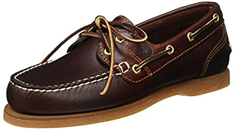 Timberland Classic Amherest 2 Eye, Women's Boat Shoes,Brown (Rootbeer Smooth) 7 UK (40 EU)