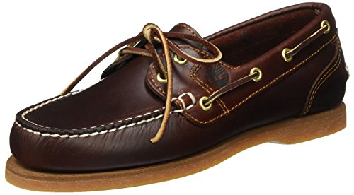 Timberland Classic Amherst 2-Eye, Damen Bootsportschuhe, Braun (Brown (Rootbeer Smooth)), 38.5 EU (5.5 Damen UK)