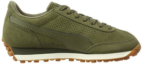Puma Easy Rider Natural Warmth, Sneakers Basses Mixte Adulte Vert (Olive Night-whisper White-gold)